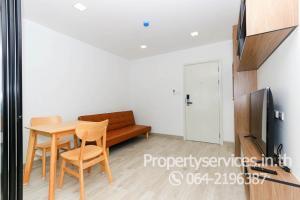 For RentCondoRamkhamhaeng, Hua Mak : Condo for rent, The One Plus Grand Ramkhamhaeng 1 bedroom, washing machine 8500 per month