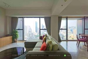 ขายคอนโดสาทร นราธิวาส : The Met Sathorn - Beautifully Furnished 3+1 Bedrooms / 225 Sqm / Large Balcony