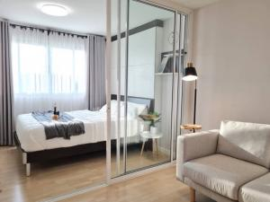 For SaleCondoPattanakan, Srinakarin : Sale Dcondo On Nut Lat Krabang - Suvarnabhumi Beautiful room, fully furnished, ready to move in, free furniture and appliances
