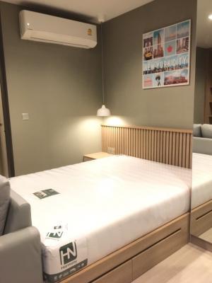 For RentCondoRama9, RCA, Petchaburi : New room 🔥🔥 Life Asoke Rama9 28 sqm., High floor, beautiful view, complete electrical appliances 095-249-7892.