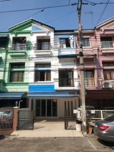 For RentTownhouseRatchadapisek, Huaikwang, Suttisan : RTJ669ให้เช่าทาวน์เฮาส์3 ชั้น เหม่งจ๋าย- ลาดพร้าว ลาดพร้าว80