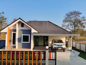 ขายบ้านพะเยา : บ้านเดี่ยว สไตล์นอรดิก 3ห้องนอน 2ห้องน้ำ