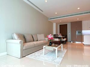 For RentCondoWitthayu,Ploenchit  ,Langsuan : 🔥Hot!! For Rent Condo 185 Rajadamri, near BTS Ratchadamri Station, Lumpini Park 102 sqm. 9th floor, ready to move in.