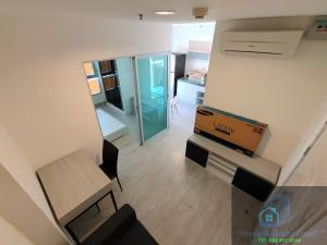 For SaleCondoChengwatana, Muangthong : Suite room 28.21 sq m. 9th floor Aspire Ngamwongwan
