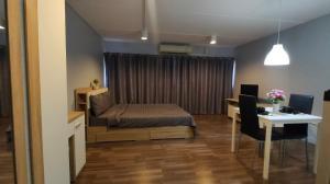 เช่าคอนโดแจ้งวัฒนะ เมืองทอง : ป๊อปปูล่าคอนโด อาคารเมืองทอง📍โซนตึกC8 ชั้น4 วิวนอก (ห้อง4/14) ขนาด 28ตรม.  ราคาเช่าเพียง 4,500 บาท/เดือน