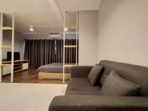 เช่าคอนโดแจ้งวัฒนะ เมืองทอง : ป๊อปปูล่าคอนโด อาคารเมืองทอง📍โซนตึกT11 ชั้น10 วิวนอก (ห้อง10-15) ขนาด 32 ตรม.  ราคาเช่าเพียง 4,500 บาท/เดือน