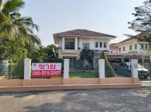 ขายบ้านมีนบุรี-ร่มเกล้า : ขาย บ้านเดี่ยว ม.ภัสสร13 พื้นที่รอบบ้านเยอะ ต่อเติมใหม่ สภาพดี ภัสสร13 200 ตรม. 0 ไร่ 1 งาน 0 ตร.วา จัดสวนสวย โครงการปลอดภัย พร้อมเข้าอยู่