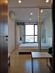 For RentCondoChengwatana, Muangthong : Condo for rent, The Base Chaengwattana, new room, beautiful view, ready to move in, near the Government Center, Muang Thong Thani