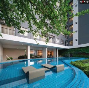 For RentCondoSamrong, Samut Prakan : GPR10063 cheap rent ⚡️Notting Hill Sukhumvit-Praksa 💰 cheap rent 12,000 bath Hot price