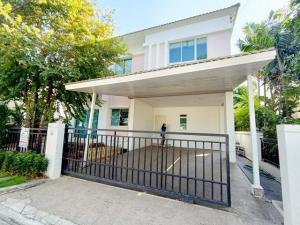 For RentHouseLadkrabang, Suwannaphum Airport : Single House For Rent | Life Bangkok Boulevard Ring Road - On Nut 2 | Size 50 sq.wa. 2 storeys. Beautiful house, fully furnished.