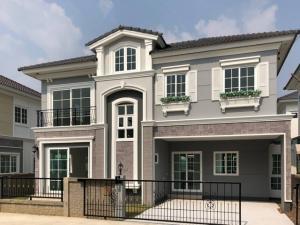 ขายบ้านท่าพระ ตลาดพลู : AE64073 ขายบ้านสวย 2 ชั้น สไตล์อังกฤษ โกลเด้น นีโอ สาทร พท 40.6 ตรว 4นอน 4น้ำ ฟังก์ชั่นเพียบ