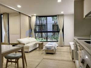 เช่าคอนโดสุขุมวิท อโศก ทองหล่อ : ให้เช่า 1 ห้องนอน+1ห้องทำงาน วิวสวน  เฟอร์ครบ