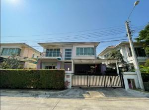 For SaleHouseBang kae, Phetkasem : Urgent sale, single house, Life Bangkok Boulevard village, Ratchaphruek-Charan