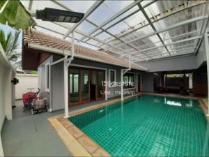 For RentHouseBangbuathong, Sainoi : House for rent, style resort corner with swimming pool.