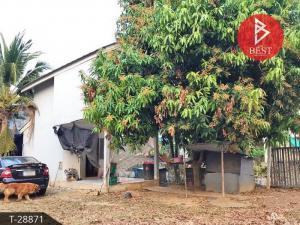 For SaleHouseSa Kaeo : House for sale Eua Arthorn village, Sa Kaeo Good location near Suwannason Road