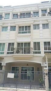 For RentShophousePattanakan, Srinakarin : 4-storey townhome for rent, Grand Ville Srinakarin, 6 bedrooms, 6 bathrooms, Soi Srinakarin 42
