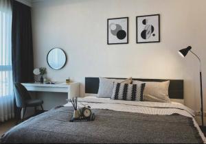 For RentCondoRatchathewi,Phayathai : For Rent !!! 1 Bed Supalai Elite Phayathai, new room, beautiful furniture, special price