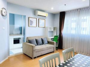 For RentCondoBangna, Lasalle, Bearing : Condo for rent, beautiful room, ready to move in Fully electrical appliances, Lumpini Mega City Bangna, 45 sqm., Ready to visit.