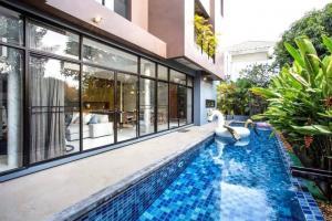 เช่าบ้านสุขุมวิท อโศก ทองหล่อ : Rental : Single House with Private Pool In Thonglor , 4 Bed 5 Bath , 100 sqw