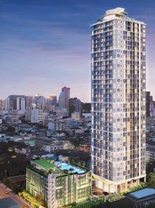 Sale DownCondoSilom, Saladaeng, Bangrak : Sale down payment Supalai Premier Si Phraya - Sam Yan, floor 30