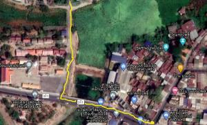 ขายที่ดินลพบุรี : 2 ไร่ อำเภอเมืองลพบุรี อบต.พรหมมาสตร์_ห่างสี่แยกตลาดท่าโพธิ์ 1 กม.
