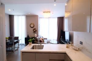 เช่าคอนโดพระราม 9 เพชรบุรีตัดใหม่ : ให้เช่า ชั้น 29 ทิศเหนือ 1 ห้องนอน The Esse at Singha Complex