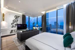 เช่าคอนโดสีลม ศาลาแดง บางรัก : Ashton Silom for rent 1bed 1bath 50 sqm 55,000 per month