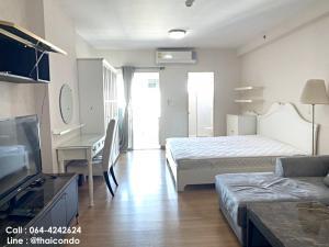 For RentCondoRama9, RCA, Petchaburi : 🔥Hot!! For Rent Condo Supalai Park Asoke - Ratchada near MRT Rama 9 size 34 sqm., 21st floor, ready to move in.