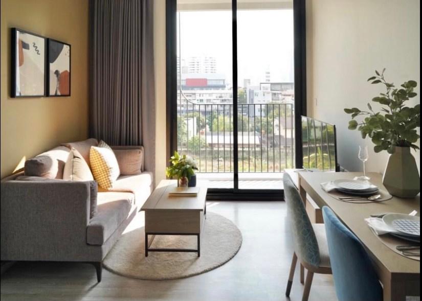 For RentCondoSukhumvit, Asoke, Thonglor : +++ Urgent rent +++ XT Ekkamai, near BTS Ekkamai ** 1 bedroom, 30 sq.m., ready to move in !!!