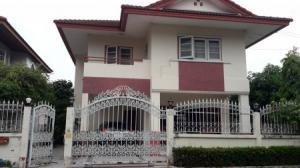 ขายบ้านมีนบุรี-ร่มเกล้า : ขายถูกมาก !! บ้านเดี่ยวหลังมุม หมู่บ้าน ปรีชา สุวินทรวงศ์ ซอย 43 สวย 2 ชั้น 60 ตรว