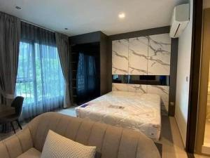 For RentCondoRama9, RCA, Petchaburi : For rent, Life Asoke Rama 9, near MRT Rama 9, Building A, 8th floor, garden view, brand new room.