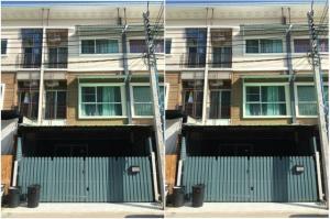 เช่าทาวน์เฮ้าส์/ทาวน์โฮมพัฒนาการ ศรีนครินทร์ : ให้เช่าทาวน์โฮม 3 ชั้น หมู่บ้านวิลเลตซิตี้ ซอยพัฒนาการ 38 บ้านสวยมาก Renovate ใหม่ ทาสีใหม่ เฟอร์นิเจอร์ครบ แอร์ 4 เครื่อง อยู่อาศัย หรือ เป็นสำนักงาน จดบริษัทได้