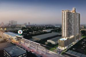 Sale DownCondoSamrong, Samut Prakan : (OWNER POST) RARE ITEM: Supalai Veranda Sukhumvit 117 Veranda Suite (C) 29.00 sq m, 29th floor