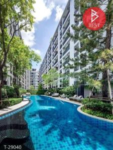For SaleCondoSamrong, Samut Prakan : Urgent sale, The Cabana Condo (The Cabana) Samrong, near the mall, near BTS