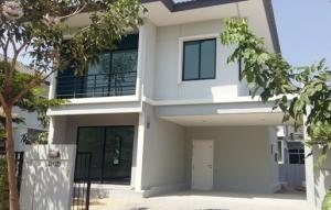 For RentHouseLadkrabang, Suwannaphum Airport : House for rent Pruksa D-Line University On Nut - Motorway, Ladkrabang Road