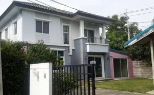 For SaleHouseBangbuathong, Sainoi : House for sale 82 square wa, The Season Village, Soi Wat Pladuk, T. Bang Rak Phatthana, Bang Bua Thong District, Nonthaburi Province, 3 bedrooms, 2 bathrooms