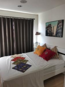 เช่าคอนโดสำโรง สมุทรปราการ : คอนโดให้เช่า บี ลอฟท์ สุขุมวิท 115  ซอย แยก 1   1 ห้องนอน พร้อมอยู่ ราคาถูก