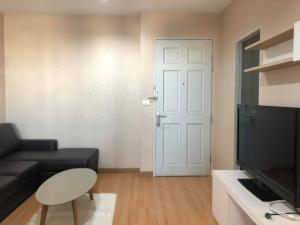 For RentCondoRatchadapisek, Huaikwang, Suttisan : Condo for rent, Life Ratchada-Suthisan Next to MRT Sutthisan, very good location, large room, renovated.