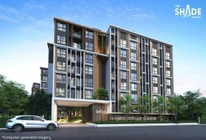 Sale DownCondoSathorn, Narathiwat : Sales down The Shade Sathon 1 room, 1 bedroom, size 30.5 sq m.