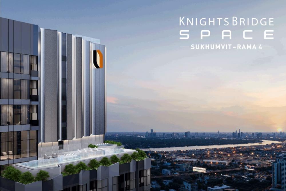 Sale DownCondoOnnut, Udomsuk : Sell Knightbridge Space Sukhumvit-Rama 4.