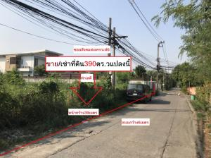 For SaleLandLadprao 48, Chokchai 4, Ladprao 71 : Land for sale 390 square wah, Soi Sangkhom Songkhre Sa 6, Social Work Road, Soi Ladprao 71, Bangkok
