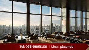 For SaleCondoSukhumvit, Asoke, Thonglor : 💥Hot Deal💥The Esse Sukhumvit 36 2 bedrooms, 2 bathrooms, just 0 meters from BTS Thonglor 📞Tel: 0659863109 Pukkie