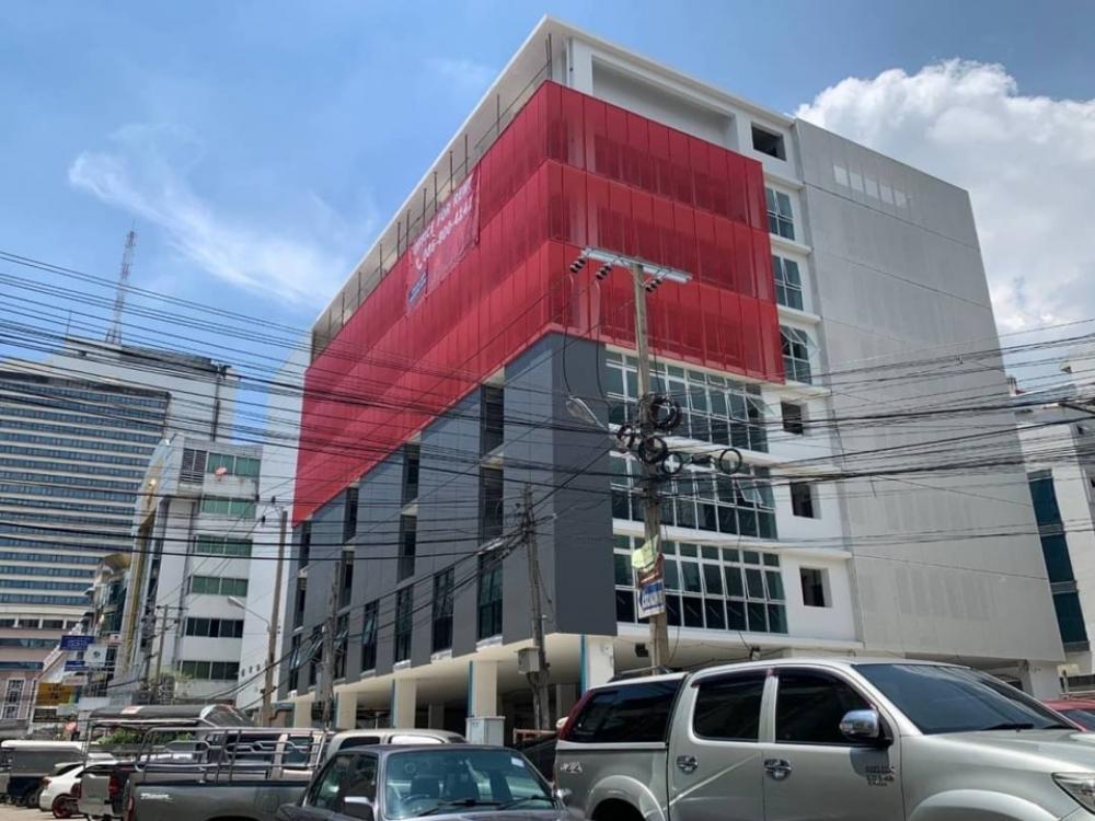 For SaleOfficeRama9, RCA, Petchaburi : Selling : Office Building , 5000 sqm , 579 sqw , Petchabiri Roadขาย ออฟฟิศทั้งตึก ตึกใหม่ บนถนนเพชรบุรี จอดรถได้ 50 คัน