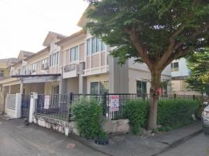 For SaleTownhouseRangsit, Patumtani : Townhouse for sale, Pruksa Ville 16 corner, Thanyaburi, Pathum Thani.