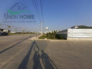 For RentLandPattanakan, Srinakarin : land for rent Krungthep Kreetha Soi 9, next to the road, area 1-3-85.5 rai