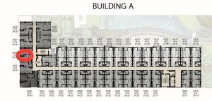 ขายดาวน์คอนโดรังสิต ธรรมศาสตร์ ปทุม : ขายดาวน์ Kave Town Shift ตึก A ชั้น 3 ห้อง Exclusive