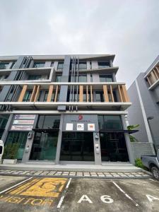 For SaleHome OfficeKaset Nawamin,Ladplakao : Home Office Nirvana @ Work Ladprao - Kaset Nawamin (Nirvana @Work Ladprao Kaset-Nawamin) 4.5 floors with elevators, good location.