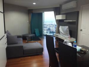 เช่าคอนโดพระราม 9 เพชรบุรีตัดใหม่ : Belle Grand Rama IX    58sqm. 27fl A2  25,000  2 bedrooms, 1 bathroom