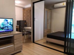 For RentCondoChengwatana, Muangthong : 🌈 For rent, Plum Condo Mix Chaengwattana 🌈, complete electrical appliances.