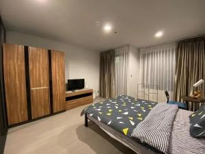 For RentCondoLadprao, Central Ladprao : ✅ For rent, Life Ladprao, near BTS, size 27 sqm, complete with furniture and appliances ✅